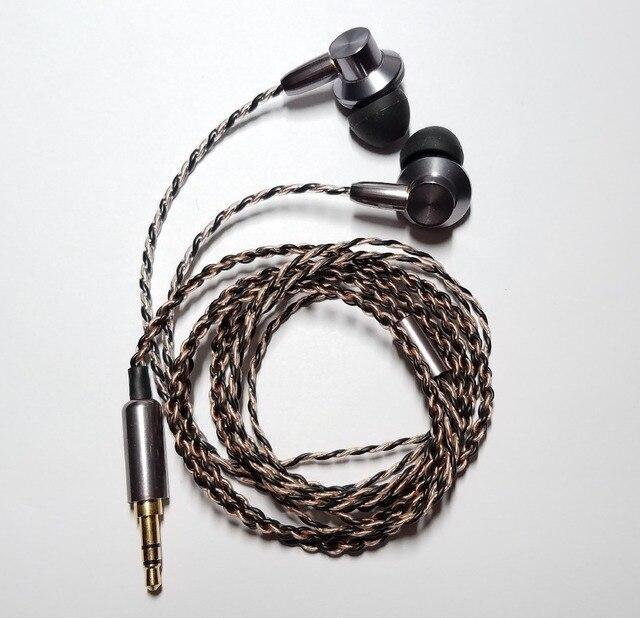 5891a983052 new technology 2019 Dynamic Driver Unit in ear earphones for Sennheiser  ie80 ie800s with sport earhooks headset IE8i ONKYO E700M