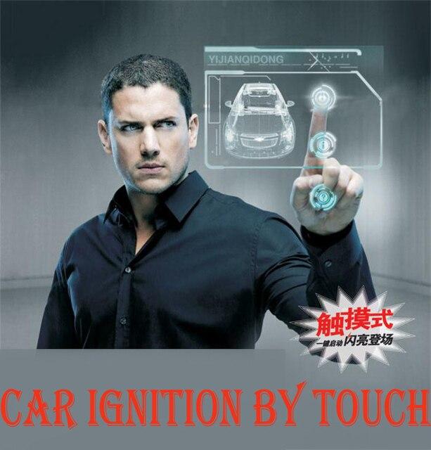 phone start button RFID car remote start/ PKE car alarm ignition starter/keyless go system anti-theft passive car alarm system