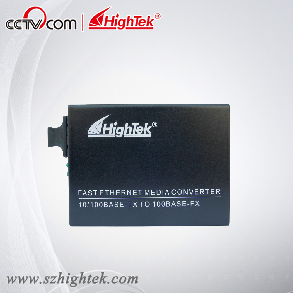 HighTek HK-9104 Single-mode 60km 10-100M Fiber Optic converter, fiber optic connector, fiber optic media converter new new sfp 1550nm100 km gigabit single mode fiber optic sfp 10g zr module