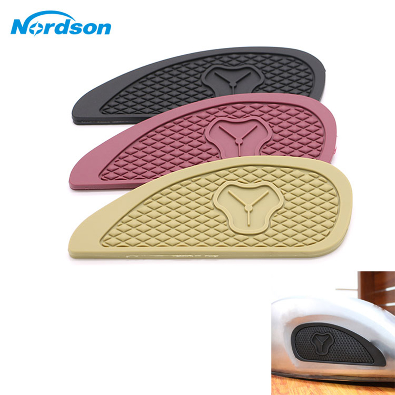 Motorbike Accessories Automobiles & Motorcycles Intelligent Nordson Retro Motorcycle Gas Fuel Tank Rubber Stickers Pad Protector Sheath Knee Grip Protector For Honda Suzuki Yamaha Kawasaki Pure And Mild Flavor