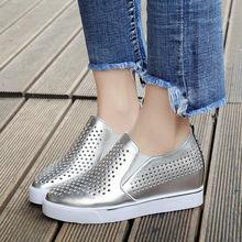 Женская обувь; Летняя Повседневная дышащая женская обувь на