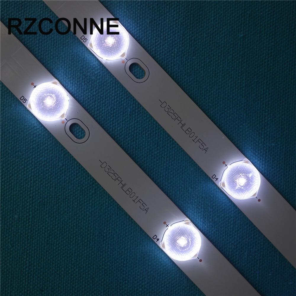 2 шт. 40 775 мм * 17 мм 10 светодиодный s светодиодный Подсветка лампы светодиодный Strips w/оптические линзы fliter для ТВ монитор Панель 30 В Новый