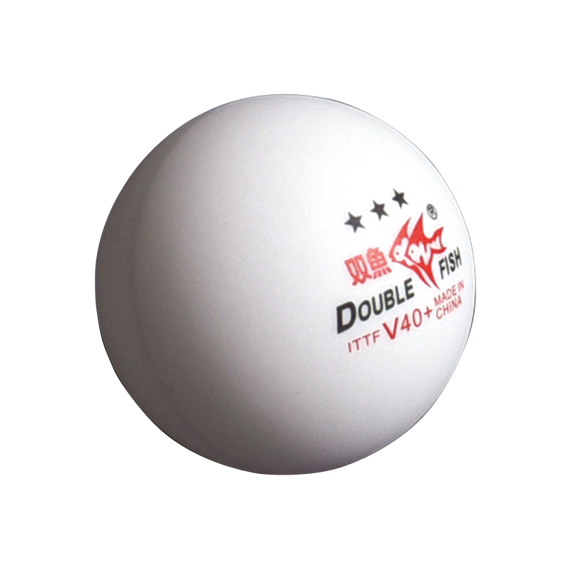 New Original 3 packs DOUBLE FISH Volant V40 3 Star Table Tennis Balls ABS Seam PingPong Ball ITTF 2018 World Cup Official Balls in Table Tennis Balls from Sports Entertainment