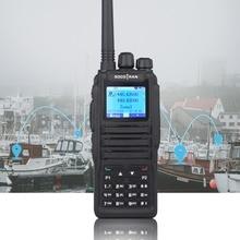 Dual Band Digitale Walkie Talkie DM 1701 Dmr Twee weg Radio Ham Amateur Radio Dual Time Slot Tier Ii (dm 5r Plus Upgrade Versie)