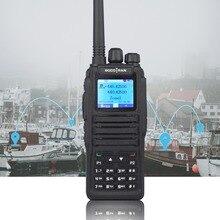 Talkie walkie numérique double bande DMR, radio bidirectionnelle Amateur, double fente horaire, niveau II (version améliorée)