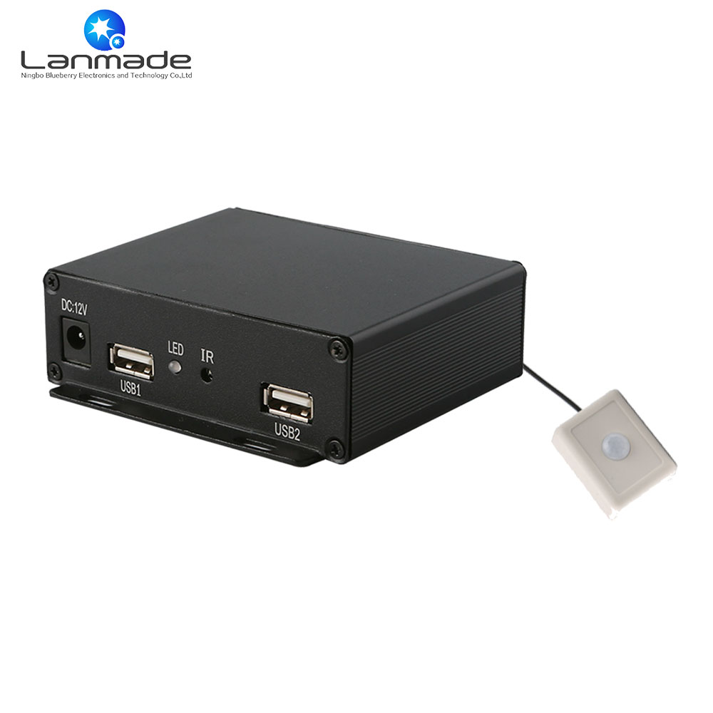US $81 1 |1080P motion sensor 8G advertising digital box signage player  media player hardware best media player for mac-in HDD Player from Consumer