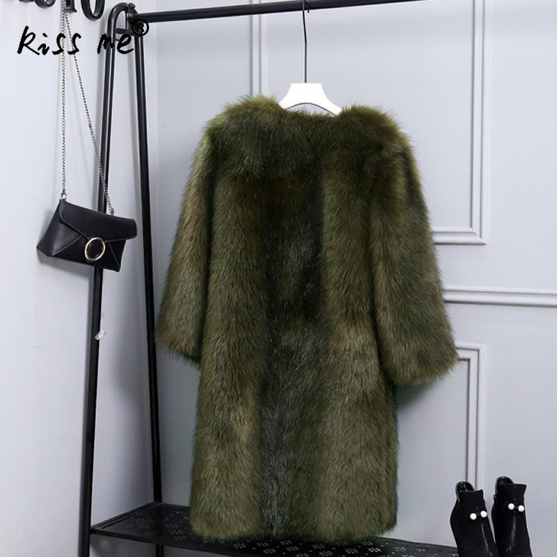 Dark Faux black 4xl Femmes À Fourrure Manches Plus Veste De Solide Gilet Manteaux Épaississent gray Mode D'hiver 3xl Longues Dames Couleur La Taille Green BvqYwRw
