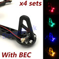 RC Quadcopter Multicopter F330 F450 F550 frame body LED navigation light with BEC hexcopter TBS Discovery frame