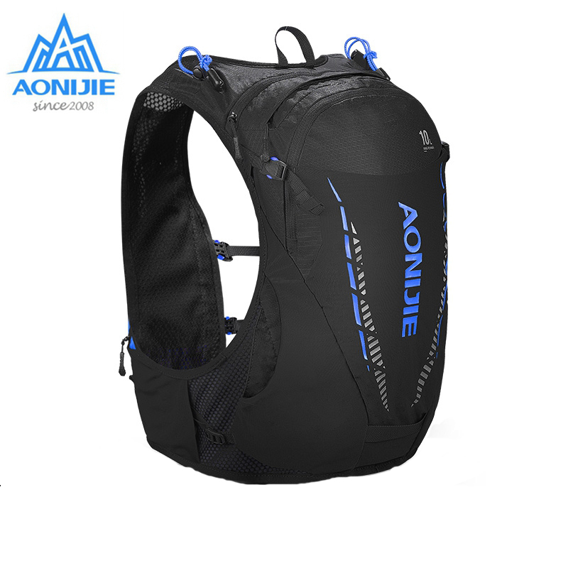 AONIJIE 10L C948 和バックパック軽量バッグ水膀胱リュックサックサイクリング登山マラソンランニング  グループ上の スポーツ & エンターテイメント からの ランニングバッグ の中 1