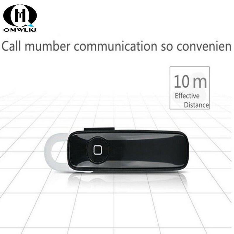 M165 Bluetooth 4 1 Headset Ultralight Wireless Earbuds Hands free Earloop Sports HD call Headset For iphone Hua Wei in Bluetooth Earphones Headphones from Consumer Electronics