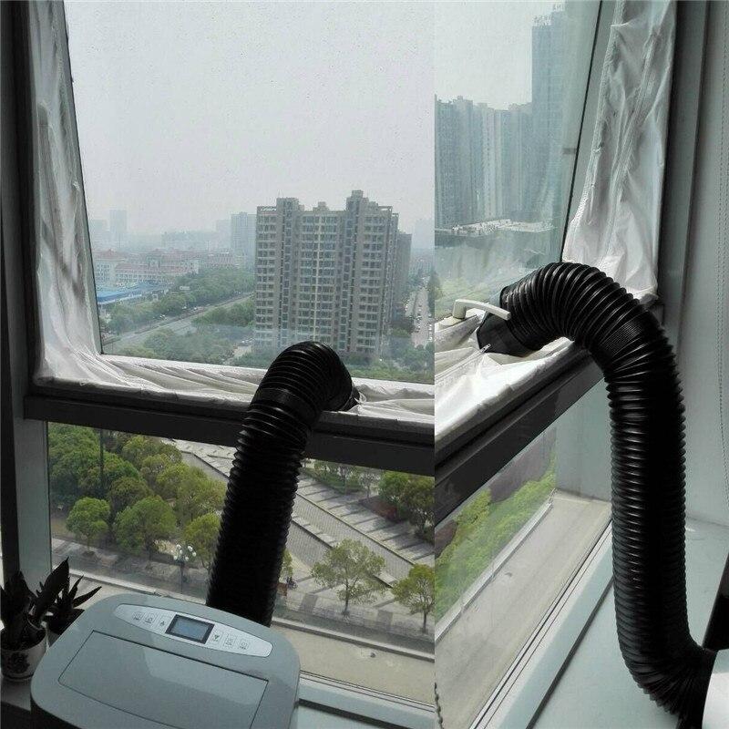 4 м окна замок уплотнения полоса ткани осушитель воздуха выхлопной трубы теплоизоляционная пленка для Портативный мобильные кондиционеры