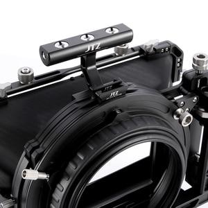 "Image 4 - JTZ DP30 Cine Carbon Fiber 4x5.65 ""Matte Box 15mm/19mm Voor Sony ARRI ROOD CANON A7 A7R A7RS A7RSIII GH4 GH5 GH6 A6500 FS7"