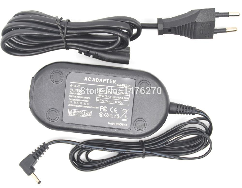 Ca-ps700 Ca Ps700 Caps700 7.4v Ac Power Charger Adapter Supply For Canon Powershot Sx1 Sx10 Sx20 Is S1 S2 S3 S5 S80 S60 Cameras Good Reputation Over The World Ac/dc Adapters Home Electronic Accessories
