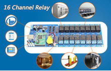 Industrial Ethernet 16 Channel Output TCP/IP Internet Web Relay Remote Switch
