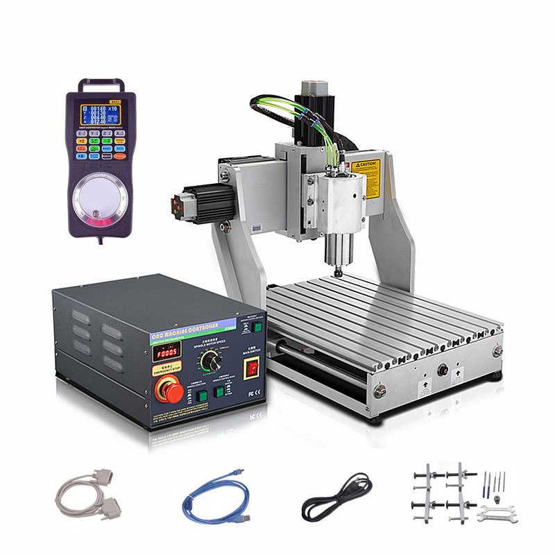 CNC Milling Engraving  Drilling Machine Industrial CNC Router 4030 eur free tax cnc 6040z frame of engraving and milling machine for diy cnc router