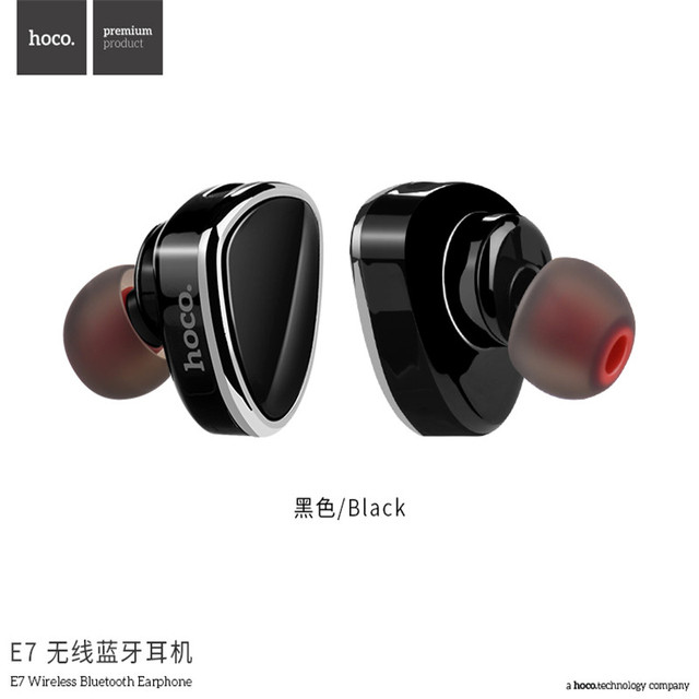 Bluetooth earbud with hook - earbud headphones with volume control