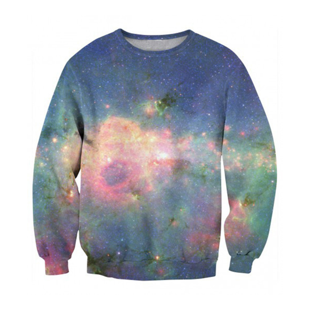Male Sweatshirt Novelty Starry Sky Spring Tracksuit Punk Style Rock Boy Streetwear Plus Size 6XL Loose Pullover Casual O-neck
