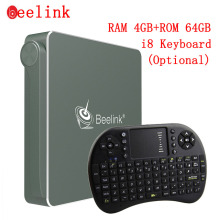 Beelink AP34 Mini PC TV Box 4G DDR3 RAM + 64G ROM Apollo Lake N3450 Set-top Boxes 5G WiFi 1000M LAN BT4.0 Windows 10 TV Receiver