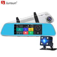 New 7 3G Car DVR Rearview Mirror Camera Android 5 0 GPS Navigation Wifi Dual Lens