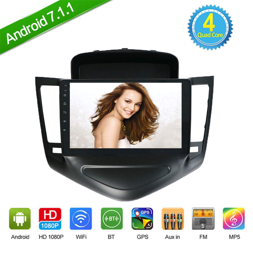 Disciplined 2 Din Android 8.1 For Chevrolet Cruze 2009 2010 2011 2012 2013 2014 With Gps Wifi Mirror Link Free Rear View Camera,map,canbus Car Electronics