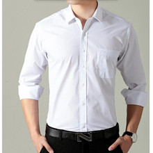 In the fall of men long sleeve shirt the formal business suits pure white professional birthday party of men's shirts