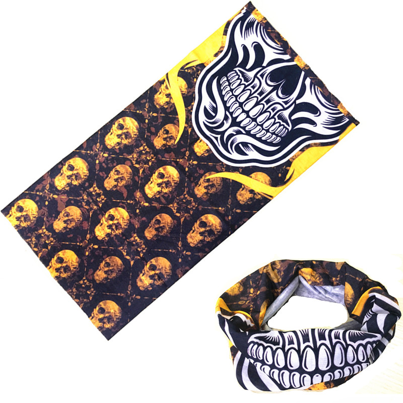 Riding Bicycle Motorcycle Bandana Scarf Eagle Egyptian Skull Variety Turban Magic Headband Veil Scarves ...