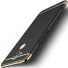 Luxury Removable 3 in 1 Hard Plastic Case for Huawei Honor V9 Play/ 6C Pro Case PC Plating Matte Cover for Honor V9 Play Case цена в Москве и Питере