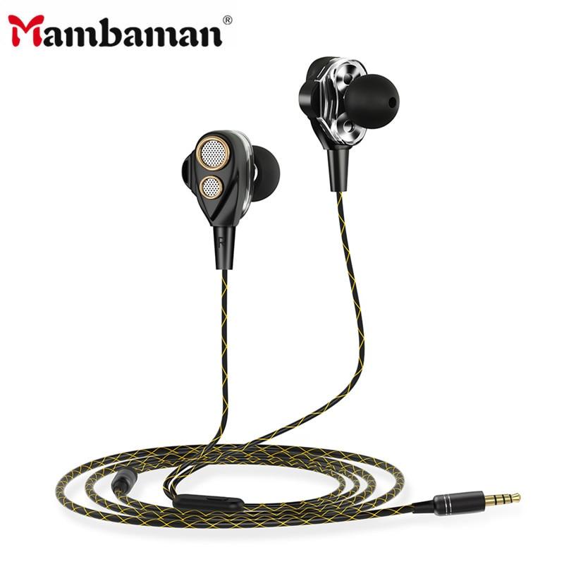 Earphones & Headphones Earphones Mambaman K384 Earphone For Phone Mp3 Mp4 Noise Isolating Stereo Sport In Ear Earbud Reflective Fiber Cloth Line Earphone Headset Comfortable And Easy To Wear