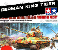 Tobyfancy Tamiya German King Tiger Tank Ardennes Front Pastic Track 1 35 Military Miniature Ready To