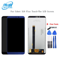 WEICHENG For 5.99 inch Cubot X18 Plus LCD Display+Touch Screen 100% Tested Screen Digitizer Assembly Replacement +Free Tools
