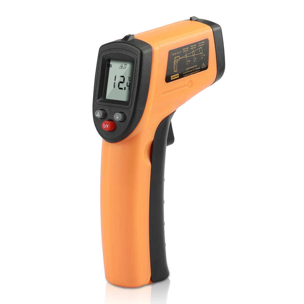 GM320 LCD Numérique IR Infrarouge Température Mètre Point-50-330 Graden Contacter Thermomètre