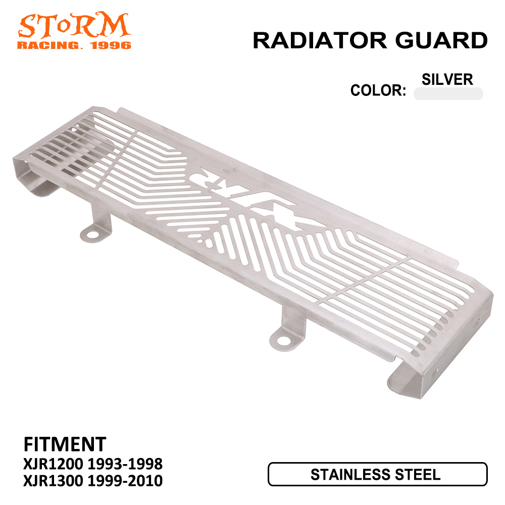 Motorcycle Accessories Radiator Guard Protector Grille Grill Cover For Yamaha XJR XJR1200 1200 1993 1998 XJR1300 1300 1999 2010