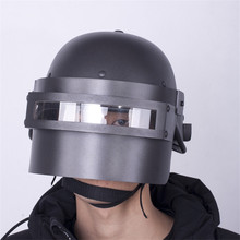 Cosplay Props Jedi Survival Escape Three Level Helmet Hot Game PUBG Cosplay Chicken Helmet Game Props Halloween недорого