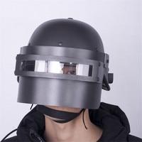 Cosplay Props Jedi Survival Escape Three Level Helmet Hot Game PUBG Cosplay Chicken Helmet Game Props Halloween
