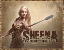 1/6 Super flexible figure 12″ action figure doll sexy female Queen Of The Jungle-Sheena seamless body with metal skeleton