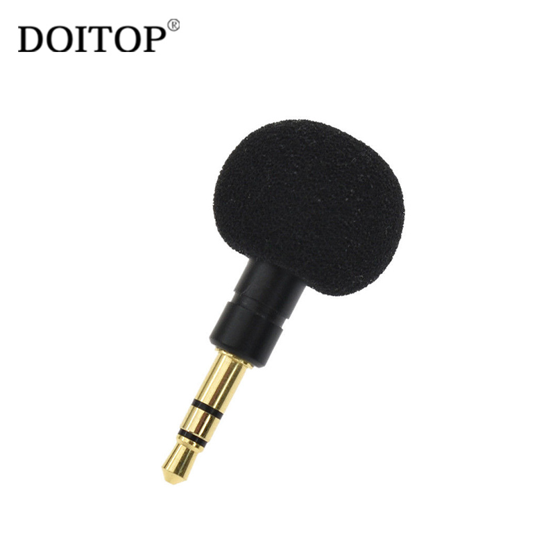 3.5mm Jack Mini Omni-Directional Portable Mic Microphone Cellphone Smartphone For Recorder For IPhone Laptop