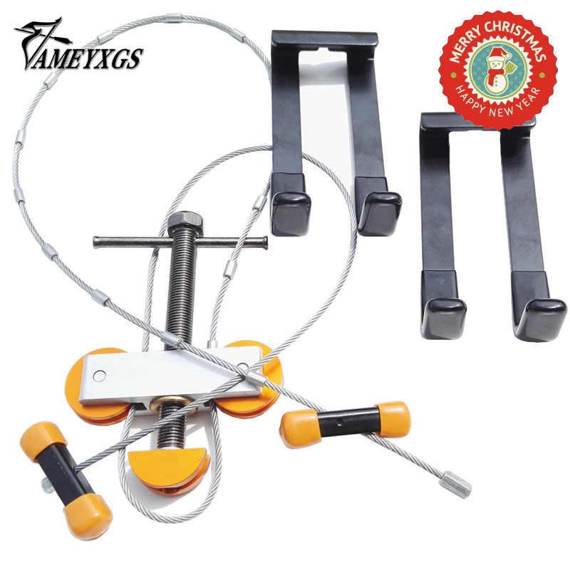 1 Set Archery Compound Bow Press L Bracket Adapter Portable