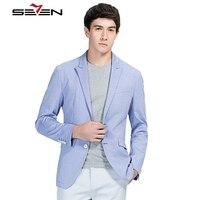 Seven7 Marke Stilvolle Herren Korea Slim Fit Lange Blazer Anzug jacke Formale Partei Tragen Männer Männliche Jacke Blazer 2017 Heißer 108C10010
