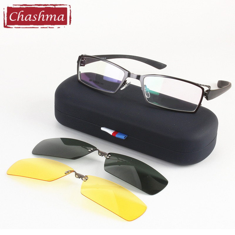 online get glasses frame with sunglasses clip aliexpress