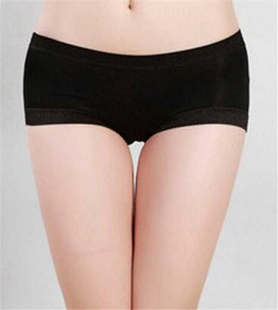 1fe4a3751117 Hot Women Satin Shorts Ladies Boxers Briefs Knickers Pantie Underwear  clothes Drop Shipping WDec16 Drop Shipping