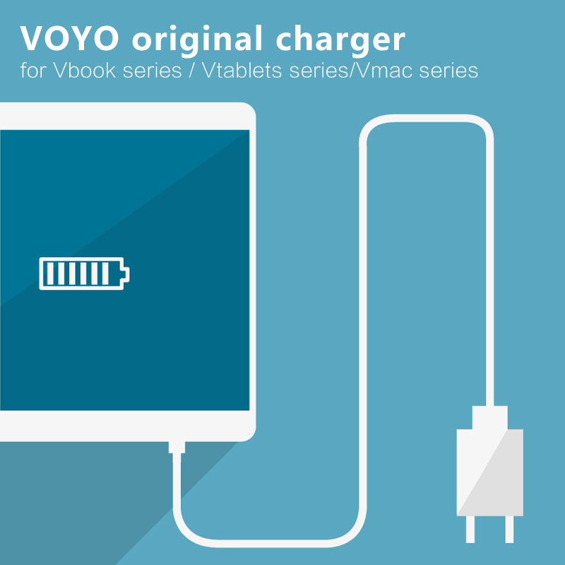 VOYO Original Charger for Vbook series Vtablet series Vmac Series