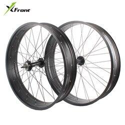 Pneu large en alliage d'aluminium pour la plage, motoneige, pneu large 20, 24, 26 pouces, roue avant et arrière 4.0