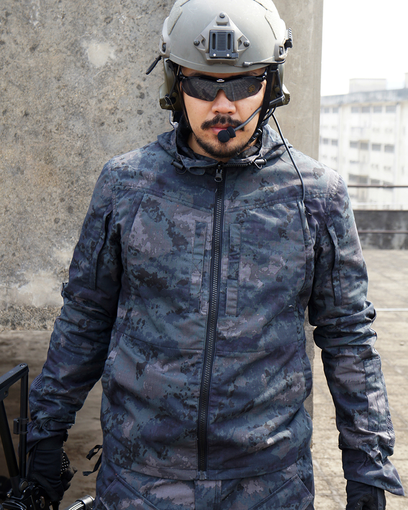 REEBOW TACTICAL Military Outdoor Jacket Men Winter Hunting Camouflage Hoodie Hiking Coat
