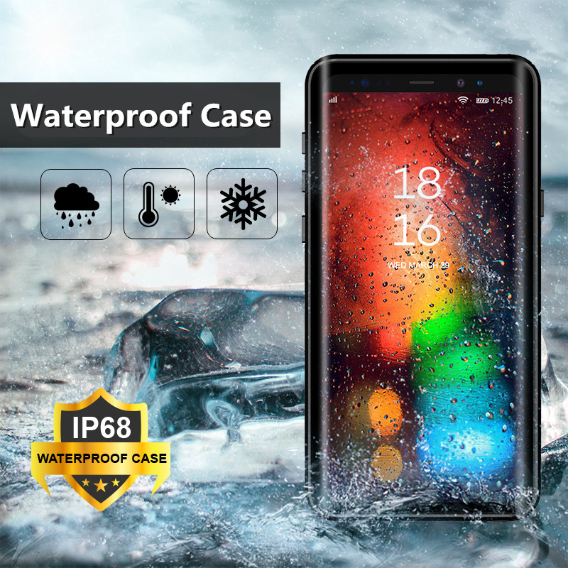 Waterproof Case For Samsung Galaxy S8 / S9 Plus Swimming Diving Coque Cover For Samsung Galaxy Note 9/ Note 8 Underwater CaseWaterproof Case For Samsung Galaxy S8 / S9 Plus Swimming Diving Coque Cover For Samsung Galaxy Note 9/ Note 8 Underwater Case