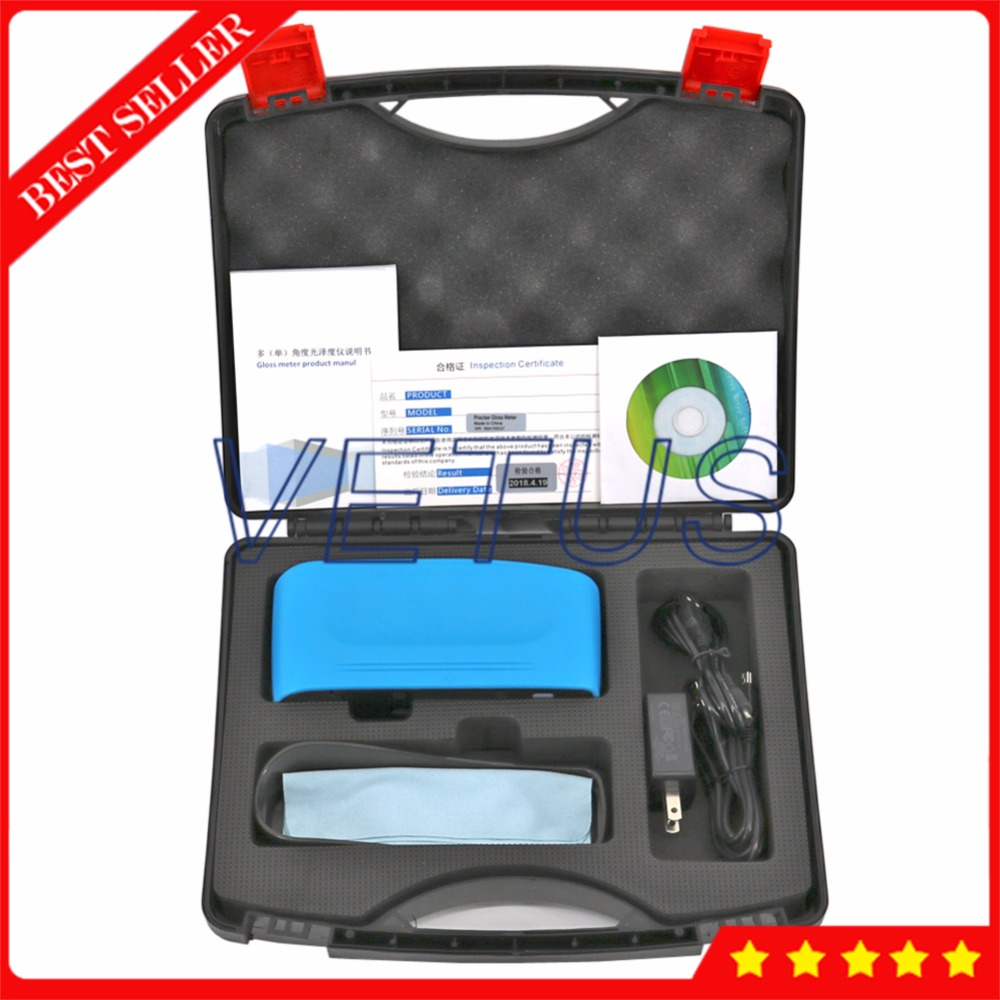 WG45 45 Degree Thin Film Plastic Gloss Meter with Single Angle Gloss Measuring Instrument Film Industry Glossmeter Glossmeters     - title=