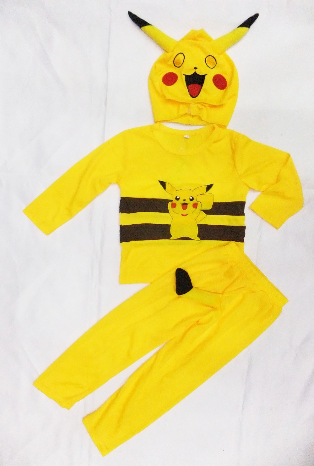 3 7 Years Party Kids Comic Marvel Pikachu Halloween -3851