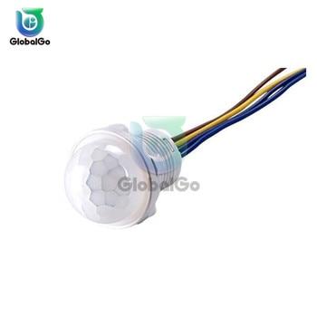 Mini PIR Sensor Detector Smart Switch 85V 220V LED PIR Infrared Motion Sensor Detection Automatic Sensor Light Switch gd ch050 photoelectric automatic device sensor switch infrared sensor switch transducer