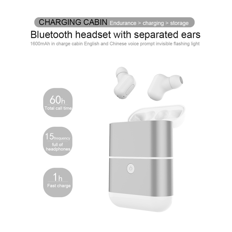 EDAL Mini Running Sports Headphones Wireless Stereo Bluetooth Earphones In-Ear Headphone Earbuds Headsets with Charging Base magnetic switch earphones sports running wireless earbuds bass bluetooth headsets in ear with mic for running fitness exercise