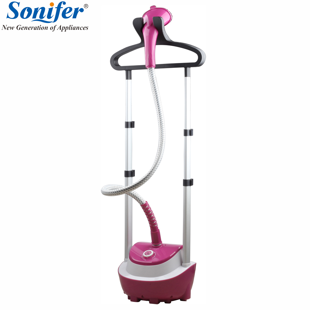 Garment Steamer Double Pole Adjustable Home Hanging Vertical Clothes Steamer For Clothes Continuous Steam 26s Fast Steam SoniferGarment Steamer Double Pole Adjustable Home Hanging Vertical Clothes Steamer For Clothes Continuous Steam 26s Fast Steam Sonifer