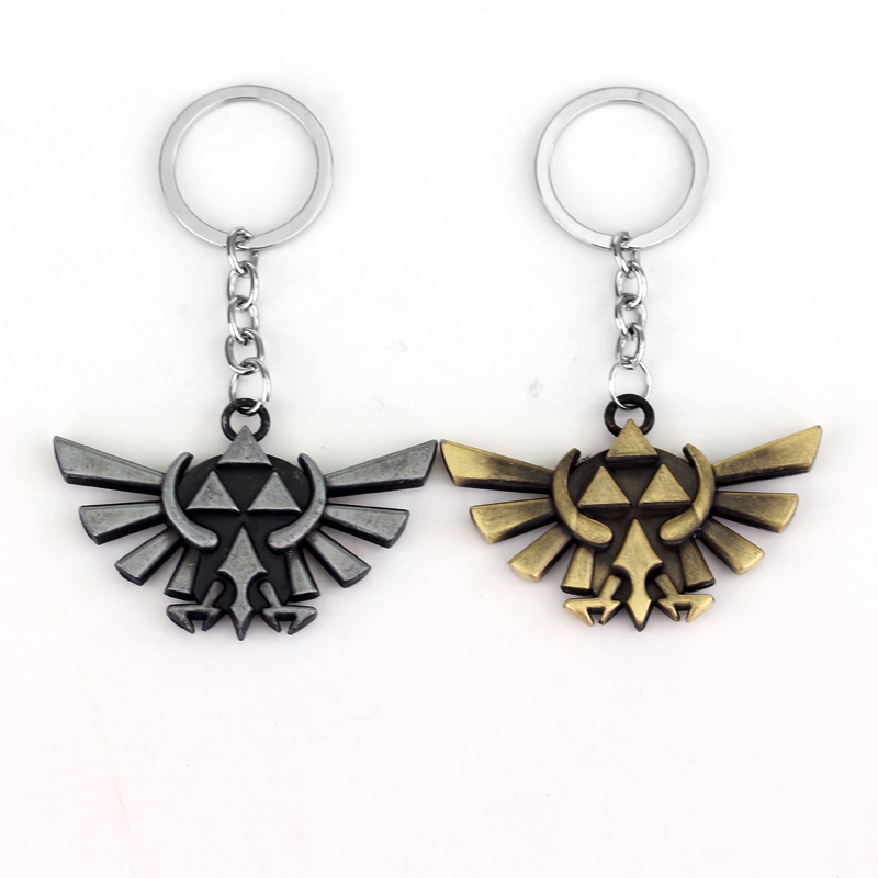 Wholesale Game Jewelry The Legend of Zelda keychain Owl Mask Exquisite Key Rings For Gift Chaveiro Car Keychain Car Key Holder